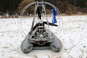 силовая установка для аэролодок Z3